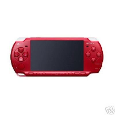 LTD japanese PSP 2000 Slim Deep Red New PSP2000