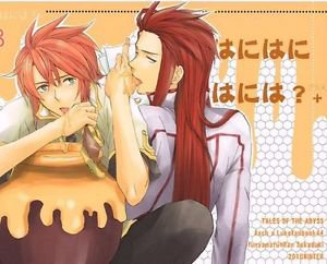 Honey? | Tales of the Abyss Doujinshi | Asch x Luke Fon Fabre