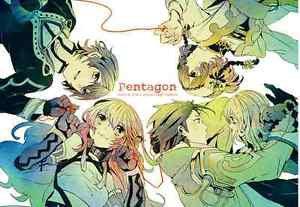 Pentagon | Tales of Xillia Doujinshi | Milla x Jude <-Leia + Alvin x Elize