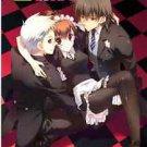 3cube | Persona 3 Doujinshi | Shinjiro Aragaki + Minako Arisato + Akihiko Sanada