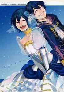 Sky-Colored Boquet | Fire Emblem Awakening Doujinshi | Morgan (F) & Morgan (M)