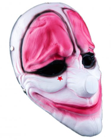 Resin Payday 2 Hoxton Mask Replica