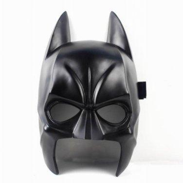 NEW Resin(NOT PVC) Replica Black Batman Mask Movie Prop Memorabilia