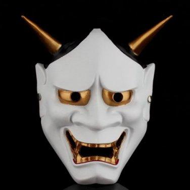 Halloween Cosplay Japanese Buddhist Hannya Evil Resin Mask