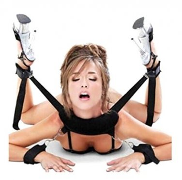 Adjustable Thigh And Wrist Restraint Straps Support Strap