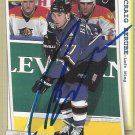 Craig Berube Signed Capitals Card - Flyers