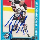 Brian Campbell Signed Sabres Prospcts Card Panthers