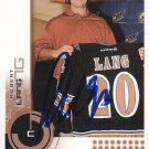 Robert Lang Signed Capitals Card Penguins - Kings