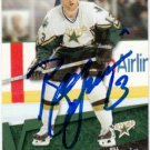 Bill Guerin Signed Stars Card Penguins