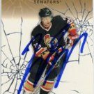 Jason Spezza Signed Senators Insert Card Stars
