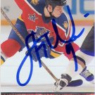 Stephen Weiss Signed Panthers Card Red Wings