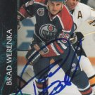 Brad Werenka Signed Oilers Card Penguins