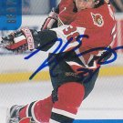 John Emmons Signed Senators Card Bruins