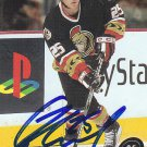 Chris Neil Signed Ottawa Senators Card