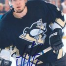 "Michel Ouellet Signed 4""x6"" Penguins Picture Isothermic"