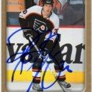 R J Umberger Signed Flyers Card