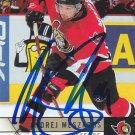 Andrej Meszaros Signed Senators Card Sabres