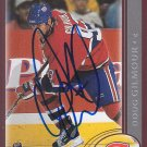 Doug Gilmour Signed Canadiens Card Maple Leafs