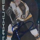 Rob Zamuner Signed Bruins Card Senators