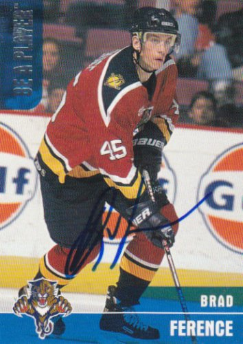 Brad Ference Signed Panthers Card