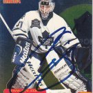 Curtis Joseph Signed Maple Leafs Card Blues