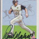 Rob Mackowiak Signed Pirates Card