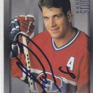 Mark Recchi Signed Canadiens Card Flyers - Penguins