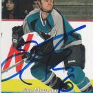 Jim Fahey Signed Sharks Card Devils - Krefeld