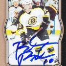 Brandon Bochenski Signed Bruins Card Blackhawks - Barys Astana