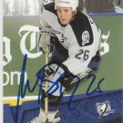 Martin St. Louis Signed Lightning Card Flames - Rangers