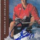 Justin Papineau Signed Rookie Card Islanders - Mannheim