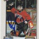 Brian Finley Signed Card Bruins - Predators