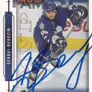 Sergei Berezin Signed Maple leafs Card Blackhawks