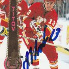 German Titov Signed Flames Card Penguins - Oblast
