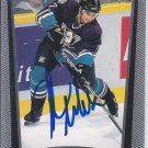 Pavel Trnka Signed Mighty Ducks Card Vitkovice