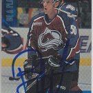 Brian Willsie Signed Avalanche Card Orebro