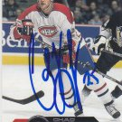 Chad Kilger Signed Canadiens Card Maple Leafs
