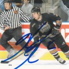 Ken Klee Signed Capitals Card Maple Leafs