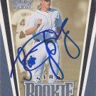 Seth Greisinger Signed Tigers Card