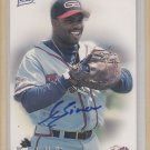 Randall Simon Autograph Certified 1997 Best Braves Card