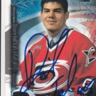 David Tanabe Signed Hurricanes Ice Rookie Card Bruins