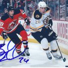 "Barry Tallackson Signed 4""x6"" Devils Picture Eisbären Berlin"