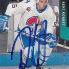 Rene Corbet Autograph Nordiques Parkhurst Rookie Card Penguins Mannheim
