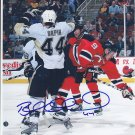 Brooks Orpik Signed Penguins Photo Capitals