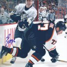 Erik Christensen Signed Penguins Photo Rangers - HV71