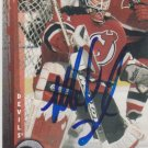Mike Dunham Signed Devils Card Predators