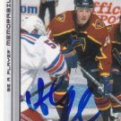 Andreas Karlsson Signed Thrashers Card Frolunda