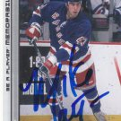 Mike Mottau Signed Rangers Card Devils