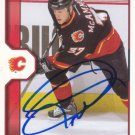 Dean Mcammond Signed Flames Card Senators