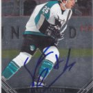 Steve Bernier Signed Sharks Card Islanders - Devils